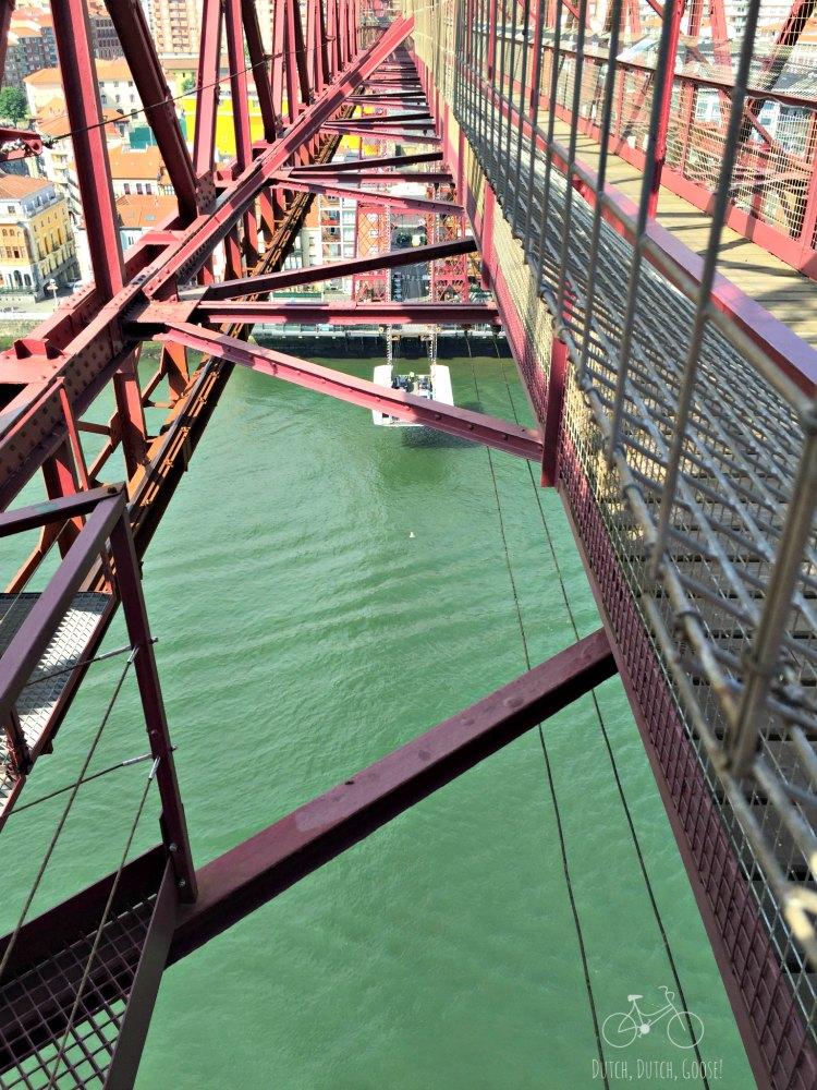 Bilbao Gondola from above