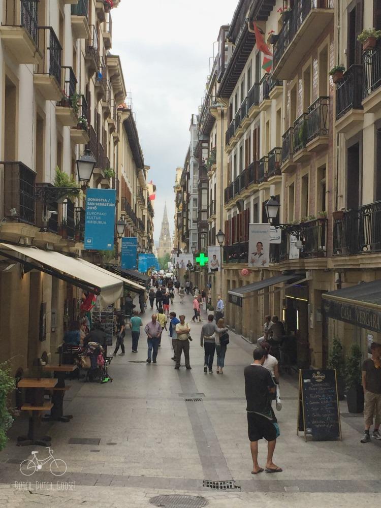 Streets of San Sebastain