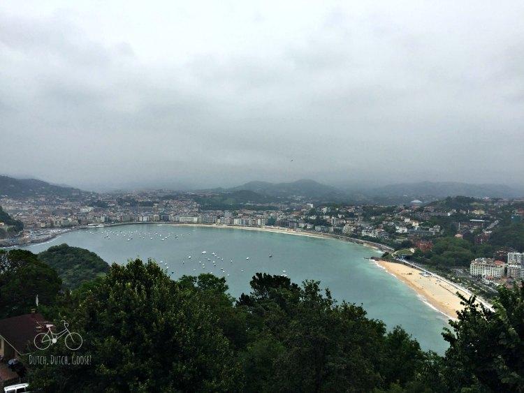 View from San Sebastian Amusement Park