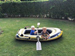 Boat in the Yard