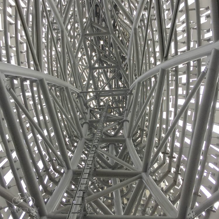 Inside the Kelpies