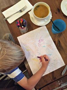 Kids Meal & Coloring