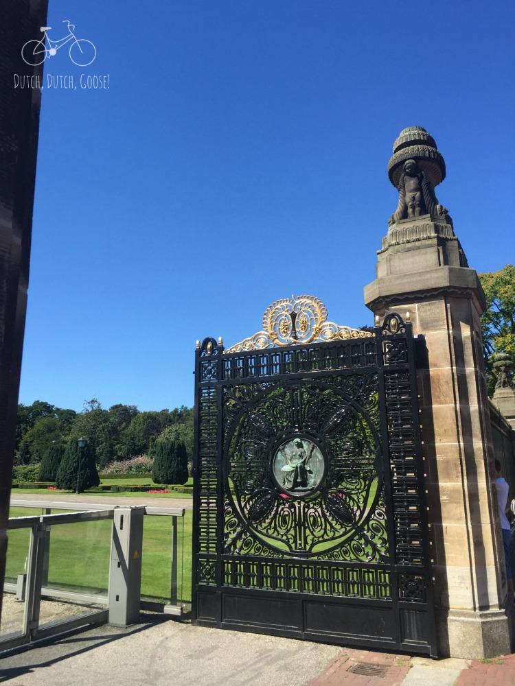 Peace Palace Gates