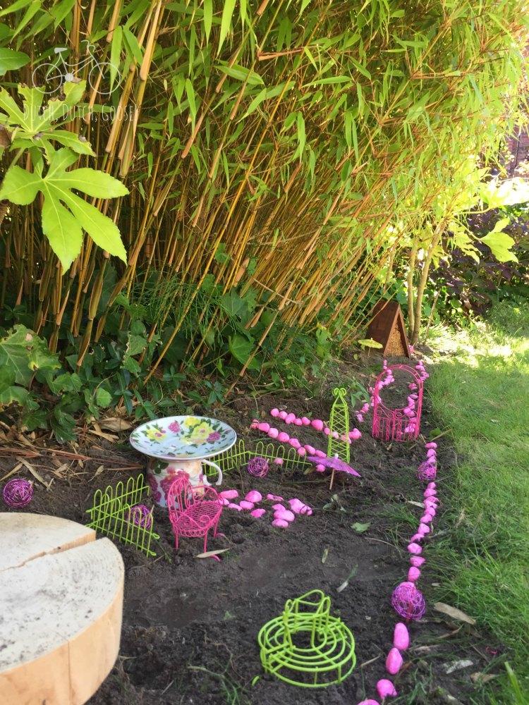 Pink Fairy Garden