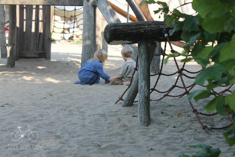 Viking Kids on Playground Archeon