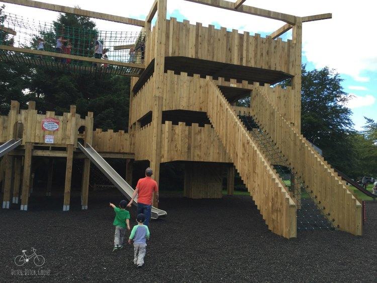 Wooden Castle Playground Scotland
