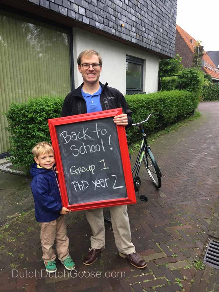 Netherlands School Back